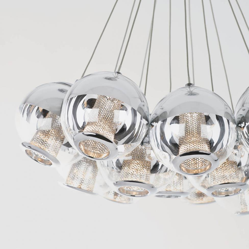 Malga 12-light integrated LED Pendant