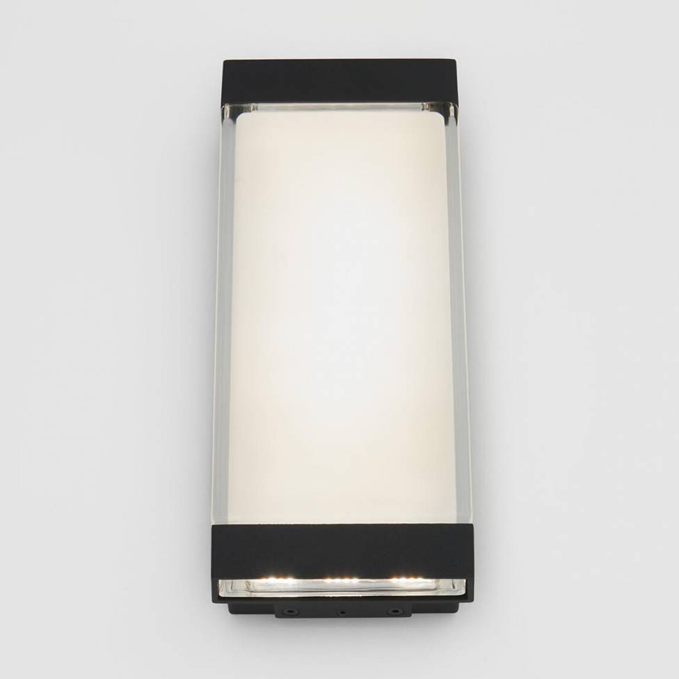 Profile Wall Light - Outdoor/Indoor Black