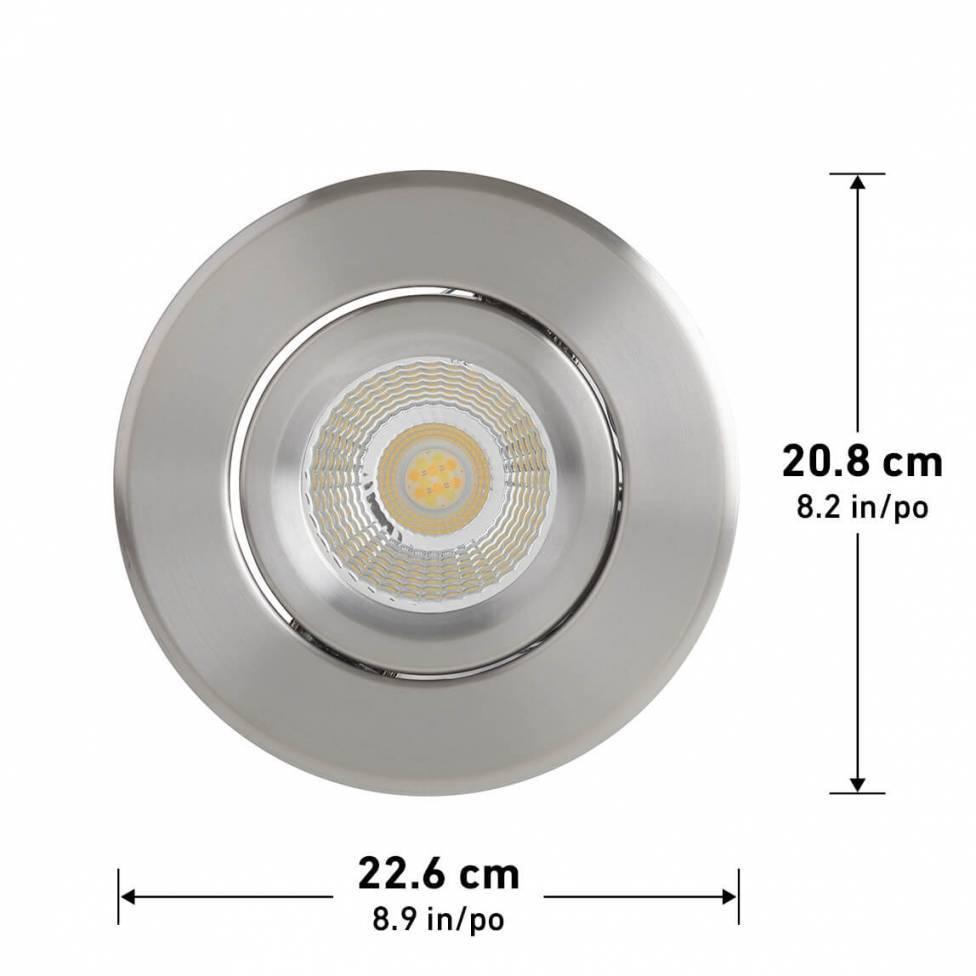 Radius Round Recessed Light