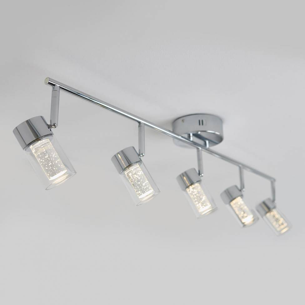 Ratio 5-light Integrated LED Track Light