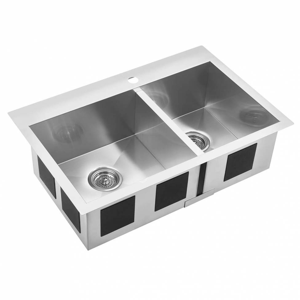 Acero Double Bowl Sink