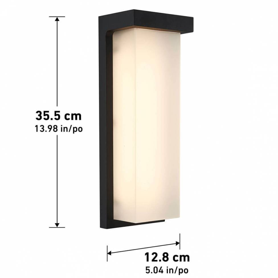 Skeet Integrated LED Outdoor Wall Light