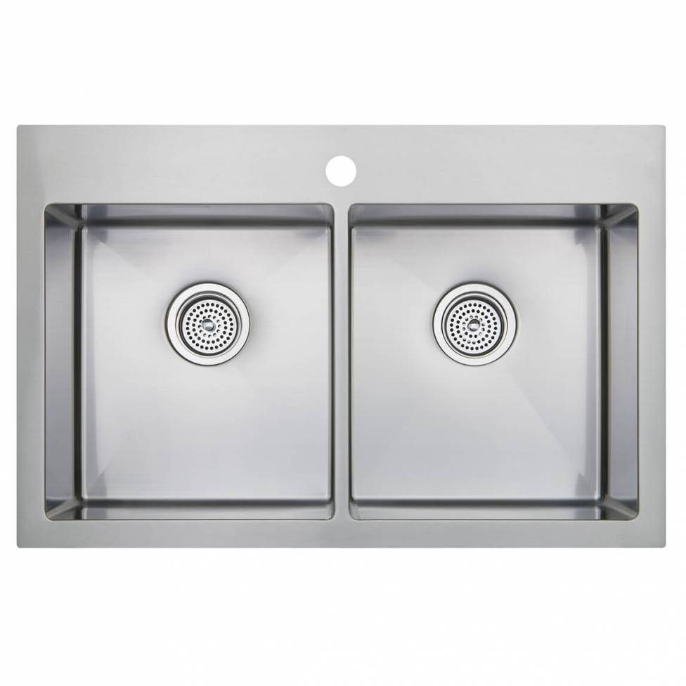 Tandem Double Bowl Sink