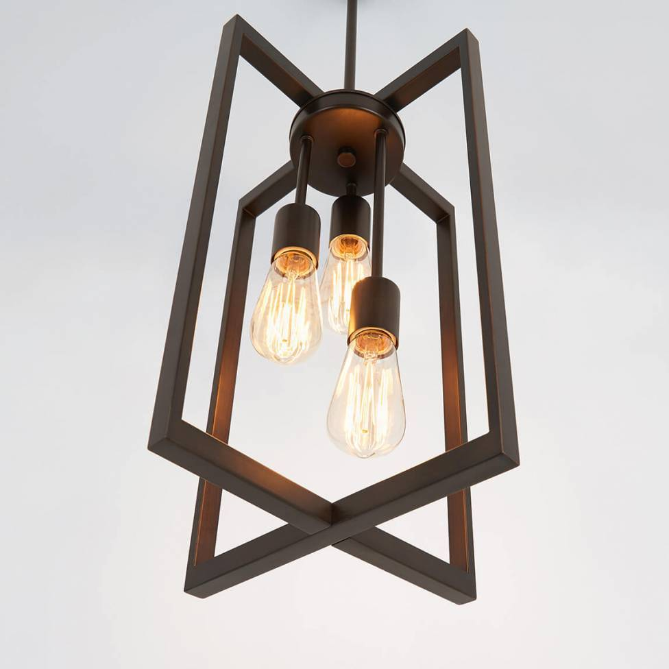 Yale 3-light Chandelier