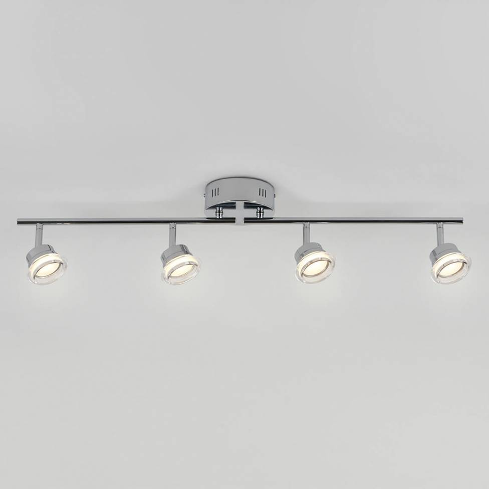 Praxis 4-light Integrated LED Track Light