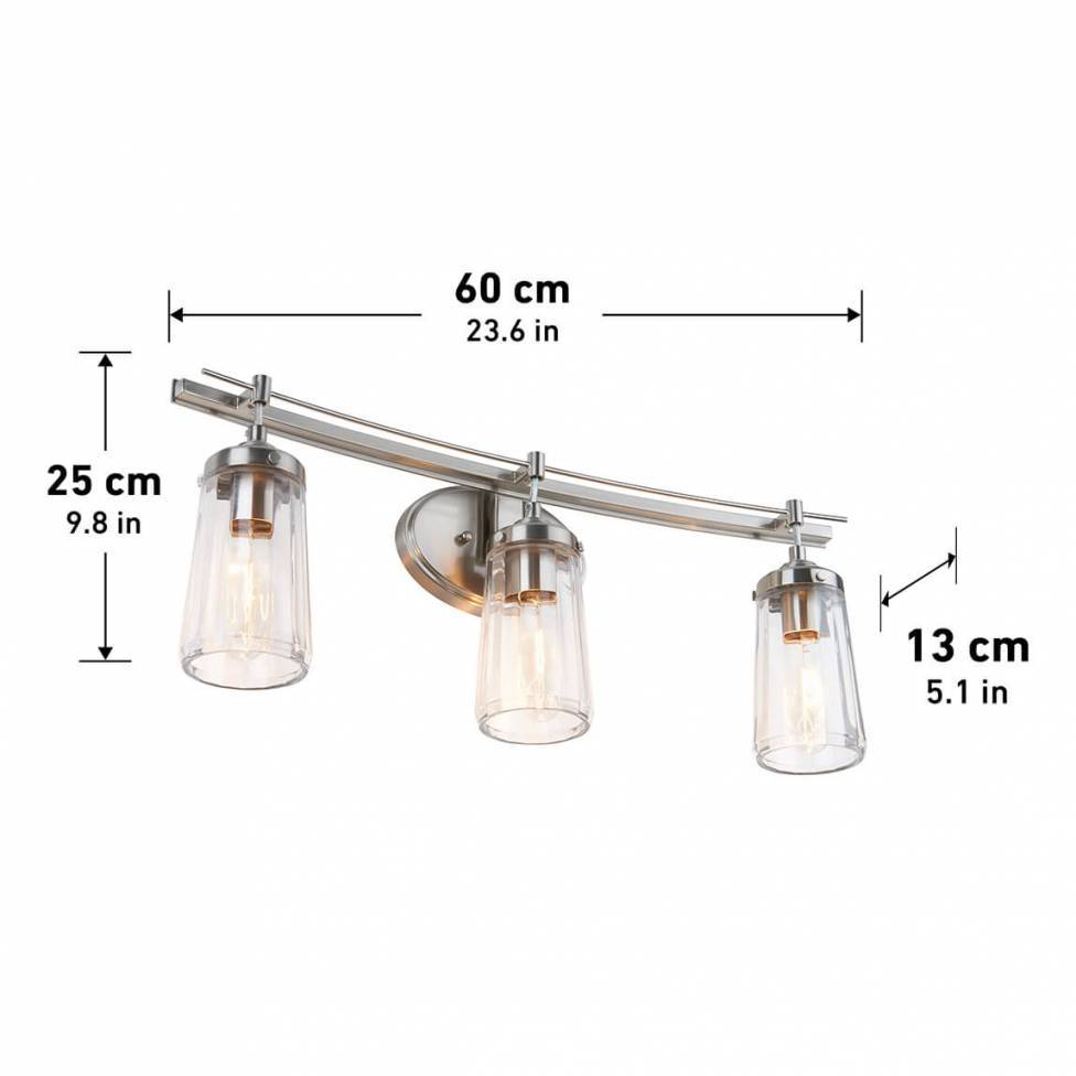 Emma 3-light Vanity Light