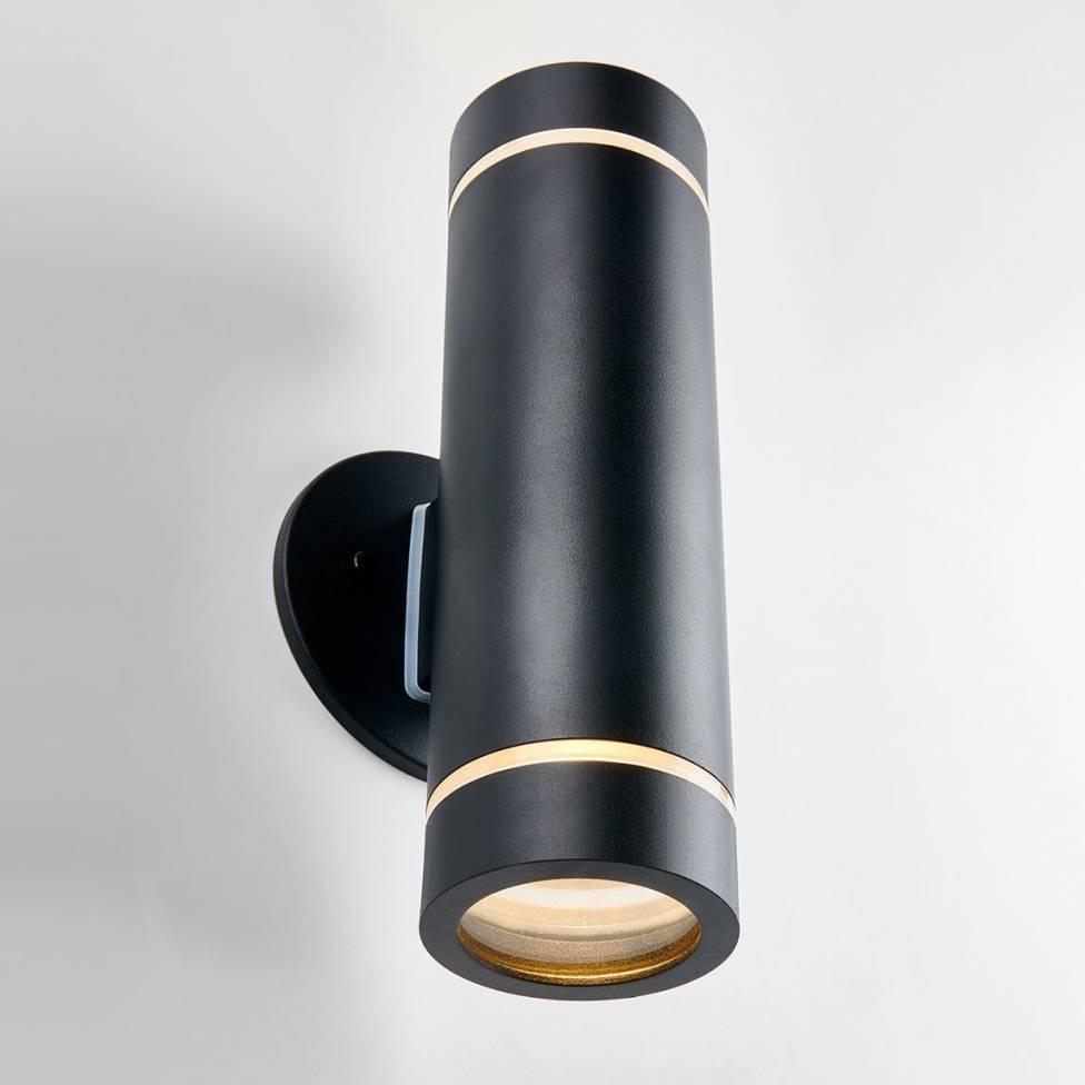 C7 Black Outdoor Wall Light