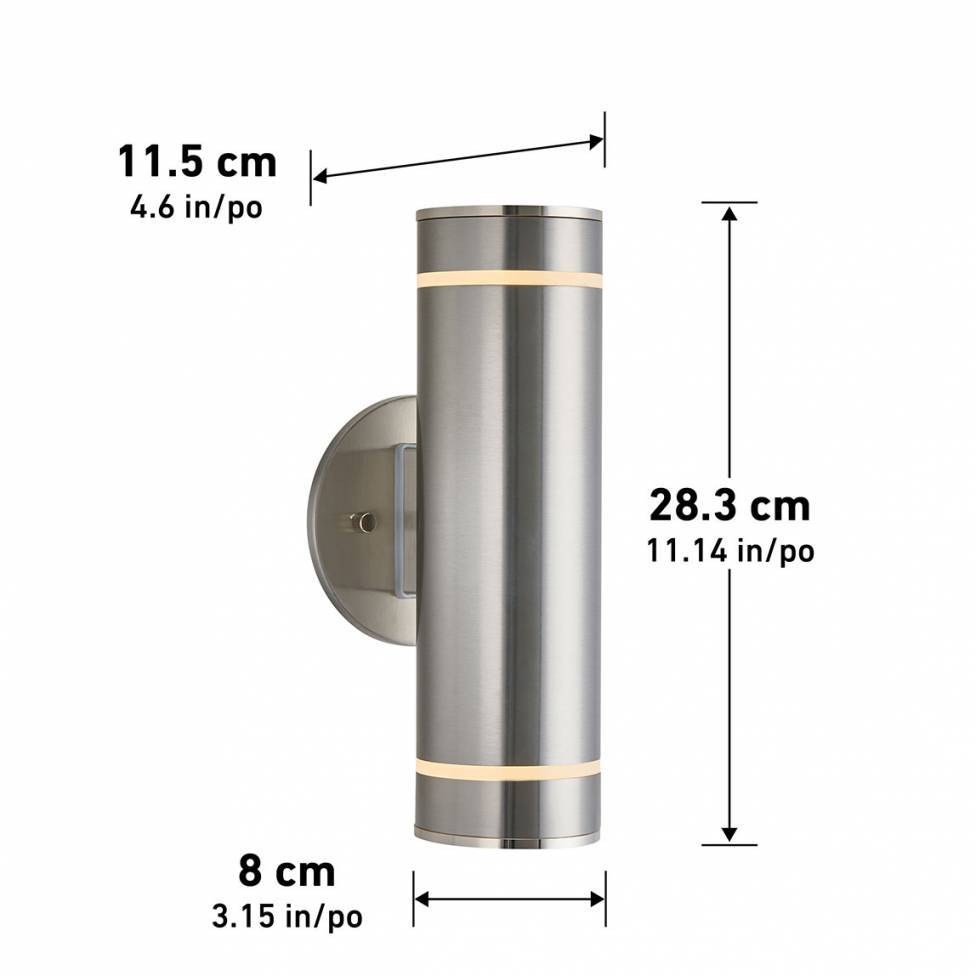 C7 Stainless Steel Outdoor Wall Light