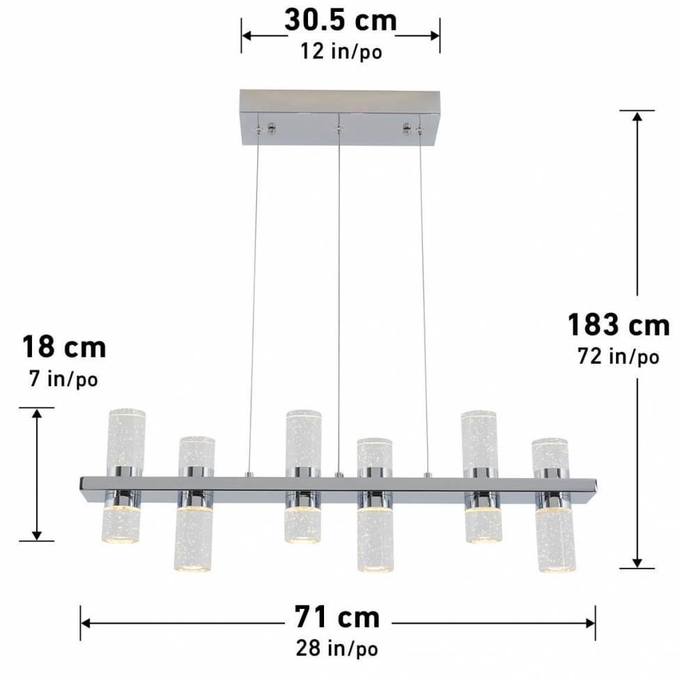 Waltz Integrated LED Pendant