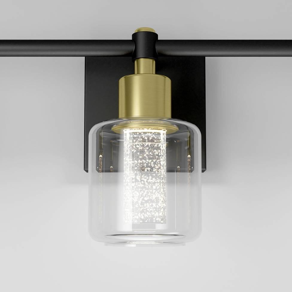 Champagne Globe Vanity Light