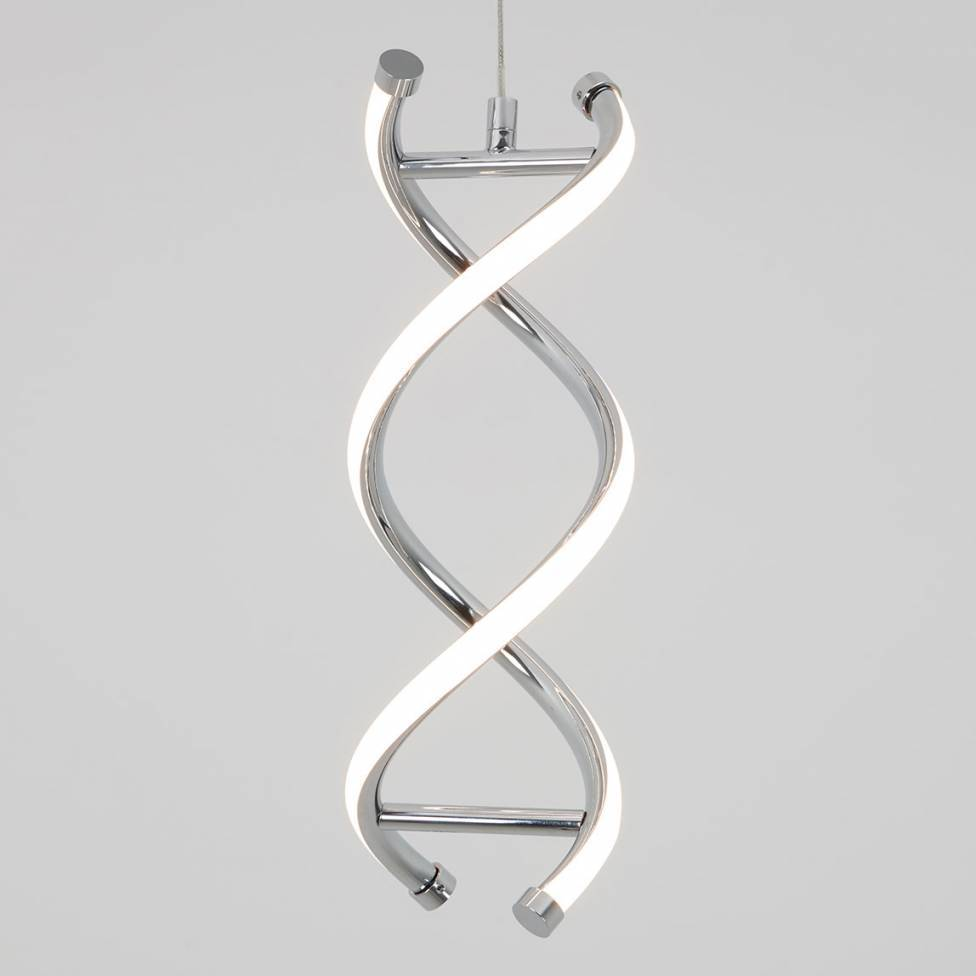 DNA Integrated LED Pendant Chrome