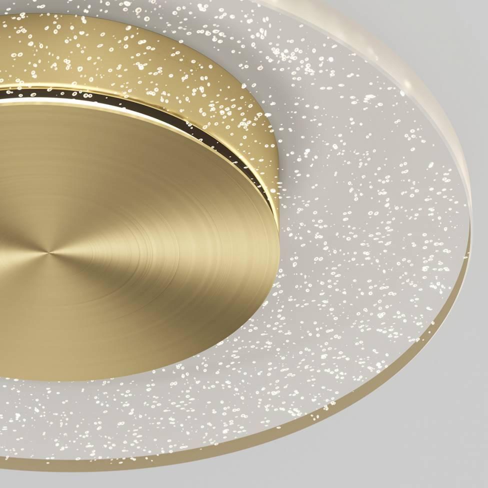 Essence Disk Integrated LED Flush Mount Gold