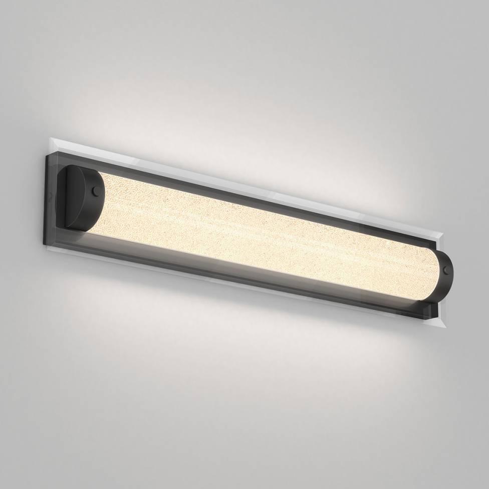 Glamour Integrated LED 3CCT Vanity Light Black