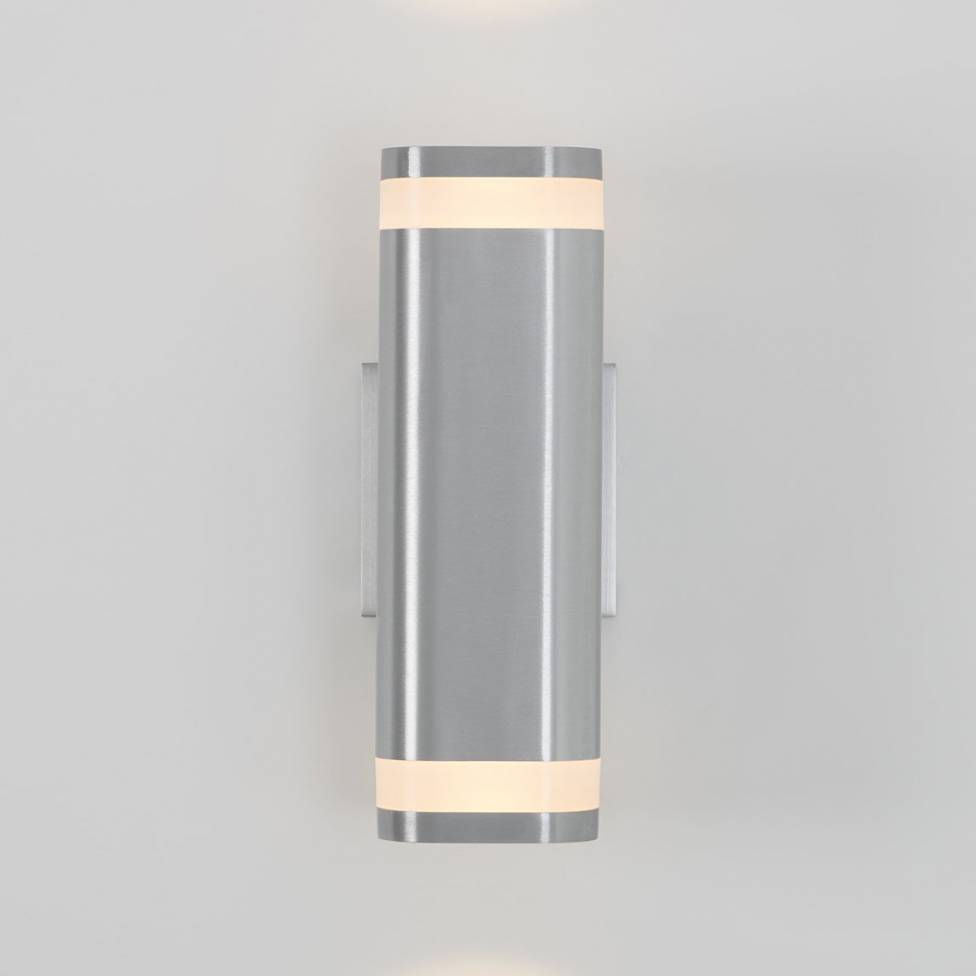 Mettle Integrated LED Outdoor Wall Light Stainless Steel