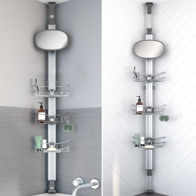 Poseidon Standing Shower Caddy