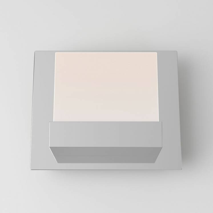 Frosted Cube 1-light Integrated LED Vanity Light