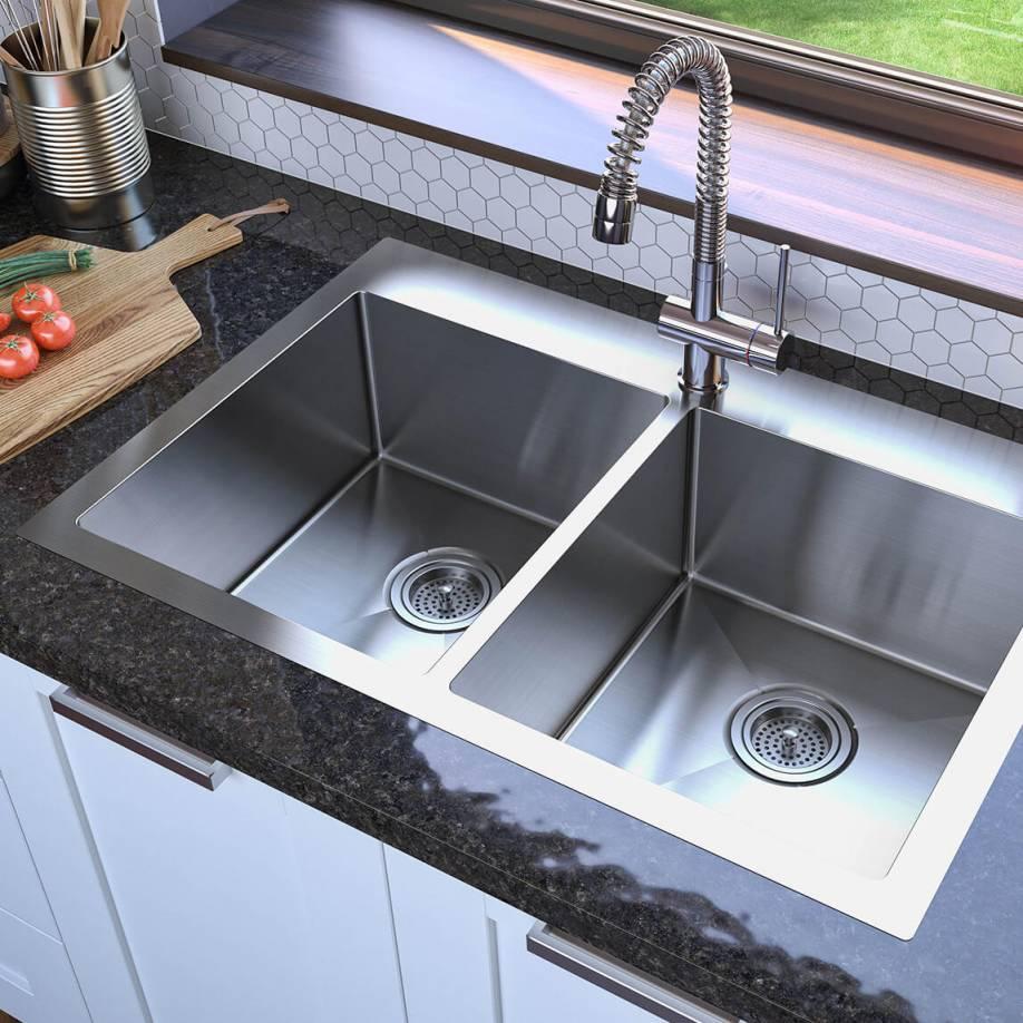 Artika Tandem Double Bowl Sink