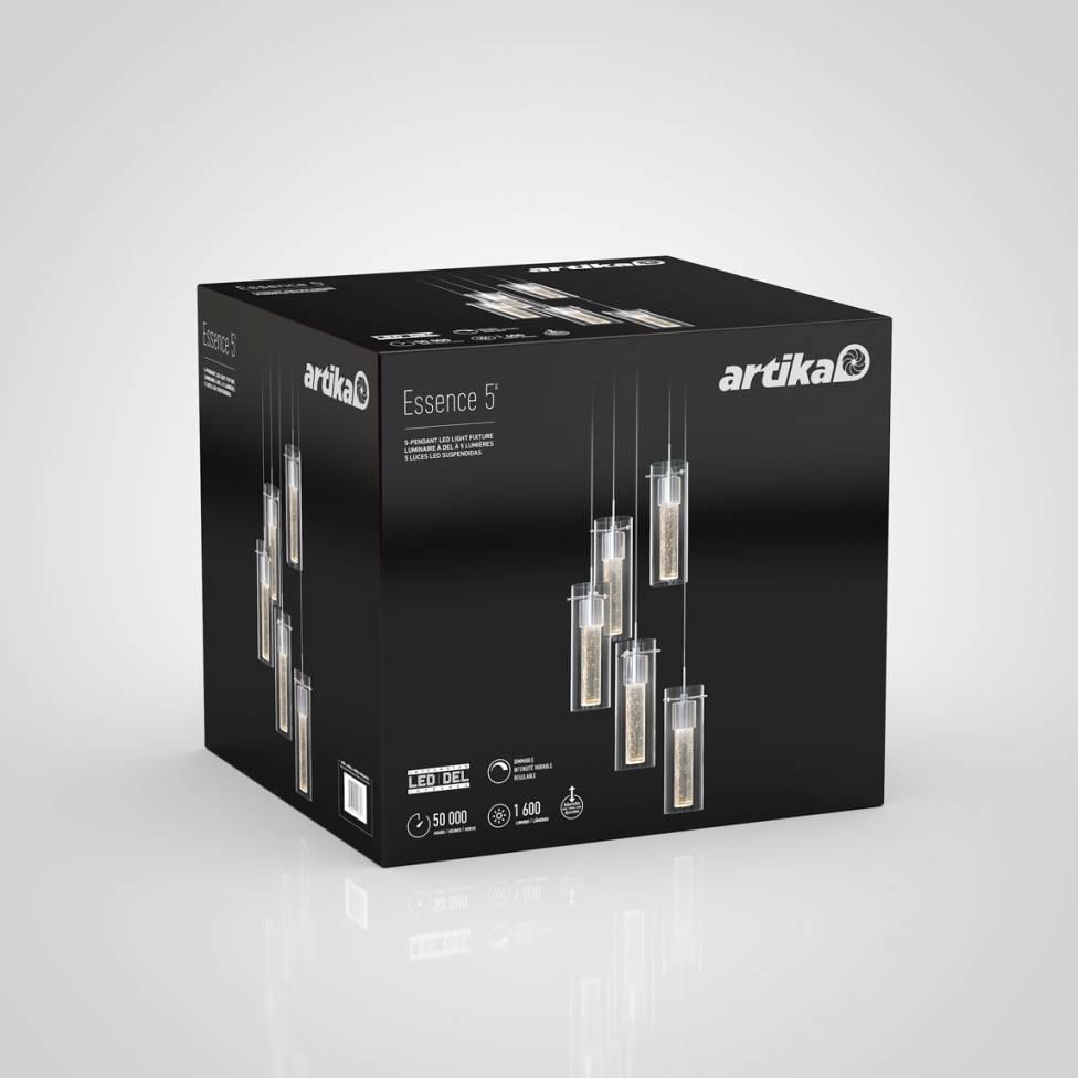 Essence 5-light Integrated LED Pendant